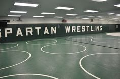 Wrestling room. Gage you can get there!!!