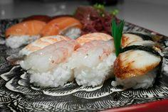Un poco de #sushi  para un día de invierno #asturias #cocinajaponesa #amadacarlotahrmenú #CabraNes