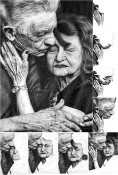 I love doing pencil portraits... It's time consuming but worth it!