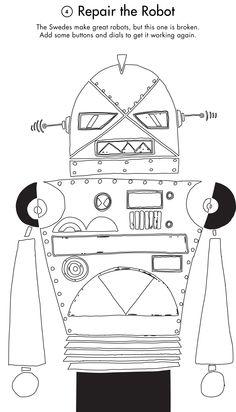 Activity Printout: Repair the Robot