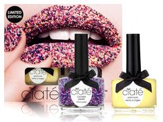 CaviarThis beady-textured mani will make your nails look like they belong in a candy store. The nonpareil-inspired look is too sweet to resist.Ciaté, Sugar Caviar Manicure Set, $12.50,available at bloomingdales.com