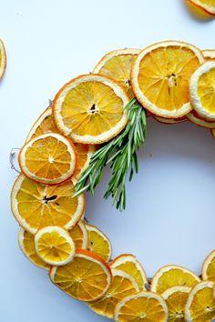 Dried Citrus Wreath