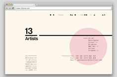 Saved by Sean Walker (fault) on Designspiration. Discover more Thezu 13 Artists Website Simplicity inspiration. Website Design Inspiration, Ui Design Inspiration, Website Layout, Web Layout, Website Ideas, App Design, Branding Design, Logo Design, Art Director