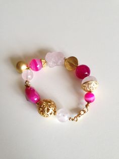 Bright fuchsia pink #AtHeartDesigns
