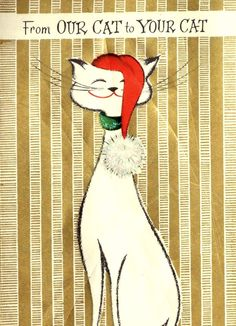 ♥♥♥ Oh yeah, for all my grandkitties, from their foster aunts. ♥ (Must love cats)