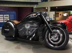 Moto Atlantico Ban Concept dua tren Bugatti co - 3 Vespa Vintage, Vintage Bikes, Vintage Motorcycles, Custom Motorcycles, Custom Bikes, Custom Choppers, Triumph Motorcycles, Concept Motorcycles, Bugatti Motorcycle