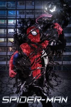 All sizes | Jeff-Venom-vs-Spiderman-FFD-HDR-Final | Flickr - Photo Sharing!