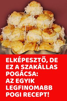 Elképesztő, de ez a szakállas pogácsa: Az egyik legfinomabb pogi recept! Savory Pastry, Salty Snacks, Scones, Biscuits, Cooking Recipes, Foods, Baking, Breakfast, Cake