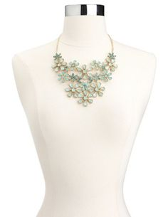 Daisy Chain Statement Necklace: Charlotte Russe