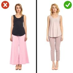 14 Clothing Items That Can Disfigure Anyone - Short Women Fashion, 60 Fashion, Fashion Mode, 101 Fashion Tips, Fashion Advice, Outfits Mujer, Runway Models, Short Girls, Body Shapes