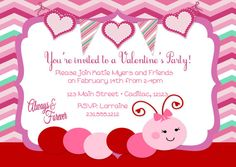 48 Best Valentine S Day Invitations Party Favors For Kids And