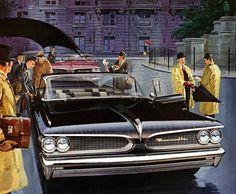 Plan59 :: Classic Car Art :: Vintage Ads :: 1959 Pontiac Bonneville
