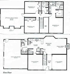 4 bedroom house layouts google search