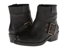 Nine West Kassy Black Leather