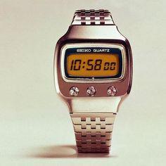 1973 Seiko Six-Digit LCD Watch