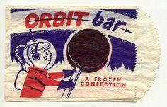 Orbit Bar Ice Cream wrapper   by grickily