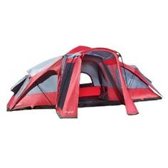Black Friday 2014 Lightspeed 3 Room 8 Person X 15 Compound Tent Red/Gray from Lightspeed Outdoors Cyber Monday  sc 1 st  Pinterest & 7 Best Family Camping images | Family Camping Family tent Teepees