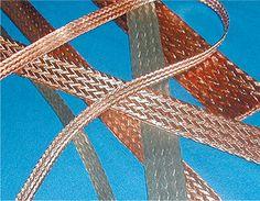 Flat Tinned Copper Braid Friendship Bracelets, Tin, Braids, Copper, Flats, Jewelry, Tin Metal, Bang Braids, Loafers & Slip Ons