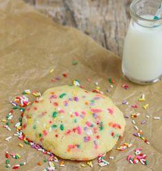 5 Minute Microondas Sprinkles Biscoito de açúcar | ânsias de Kirbie | A San Diego comida blogue