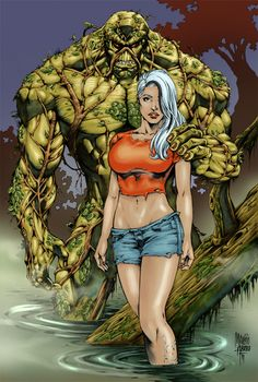 Swamp Thing - Colour only