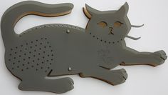 Cat Jewelry Organizer by RomeandRooneyDesigns on Etsy, $25.00