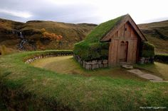 Did you know the turf farms of Iceland developed from the long house- a tradition that was brought to Iceland from Nordic settlers in the 9th century?