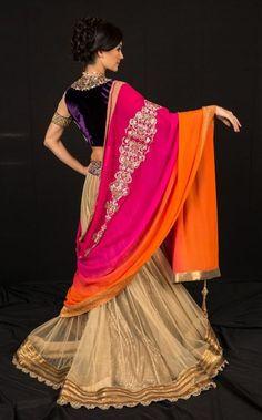 beautifulindianbrides:  Outfit by:Shymal&Bhumika