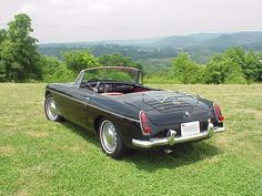 My first car & first love - a 1963 MGB like this one!