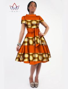 Gender: Women Waistline: Natural Decoration: Sashes Sleeve Style: Regular Pattern Type: Print Style: Casual Brand Name: BintaRealWax Material: Cotton Season: Summer Dresses Length: Knee-Length Necklin
