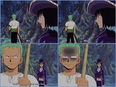 Er...Zoro you lost?