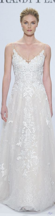 Spring 2018 Bridal Randy Fenoli ~ This gorgeous dress is my favorite Best Wedding Dresses, Designer Wedding Dresses, Bridal Dresses, Wedding Gowns, Weeding Dresses, Trendy Wedding, Wedding Ideas, Wedding Dress Preservation, Bride Gowns