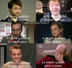 Tom Felton el único hombre en el mundo al cual nunca le gustó Emma Watson. #ihappyshop
