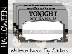 New this year for your #HalloweenParty : Kitchy name tags! https://www.etsy.com/listing/246572857/10-halloween-party-name-tags-stickers?utm_content=buffer80599&utm_medium=social&utm_source=pinterest.com&utm_campaign=buffer #Halloween #HalloweenGames
