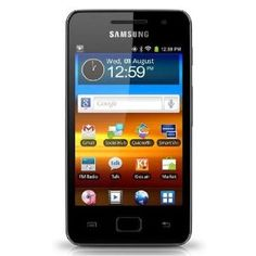 Samsung YP-GS1CB Galaxy S WIFI 3.6 Lettore Digitale Portatile mp3/mp4