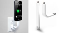 Trunk iPhone Charging Cable Is Flexible Yet Rigid