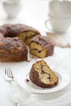 Chocolate Swirl Coffee Cake (Substitute: Bob's Red Mill All-Purpose GF Baking Flour) (made with truvia instead of sugar!)
