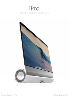 iPro – cel mai interesant concept care combina iMac cu Mac Pro