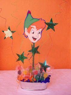 Children's Parties Decoration Peter Pan Centerpieces