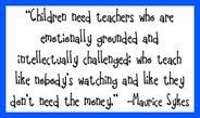 Quotes - teaching