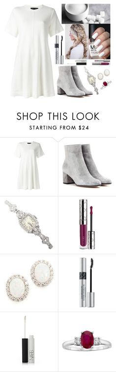 """""""#1488"""" by ar0und-the-w0rld ❤ liked on Polyvore featuring Proenza Schouler, Gianvito Rossi, By Terry, Kenneth Jay Lane, Christian Dior and NARS Cosmetics"""