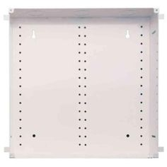 14 in. Structured Media Enclosure and Flush Mount Cover, White