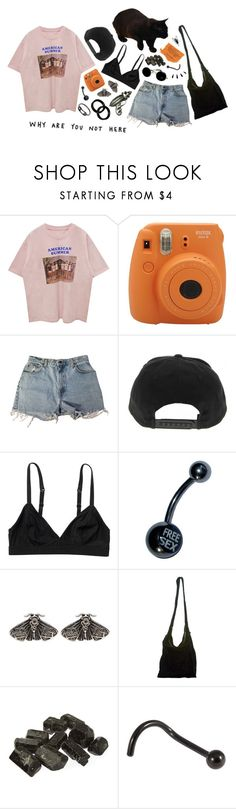 """""""none of this is happening by accident"""" by floodrats ❤ liked on Polyvore featuring Levi's, Monki, Mimco, Acne Studios, Rock Rebel, Old Navy, KAOS and Maria Black"""
