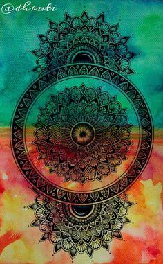 Mandala wallpaper for mobile screen Mandala Art Lesson, Mandala Artwork, Mandala Painting, Doodle Art Drawing, Cool Art Drawings, Mandala Drawing, Realistic Flower Drawing, Bird Paintings On Canvas, Worli Painting