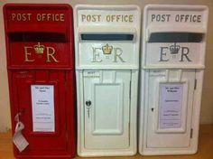 Post boxes - By Vikki - At Sapphire Bespoke Events, 59 Poulton Road, Wallasey, Wirral
