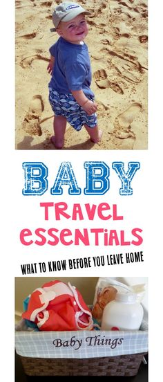 Baby Travel Essentials and Gear Checklist!  Number 5 on this list is a Lifesaver when traveling with Baby! | TheFrugalGirls.com