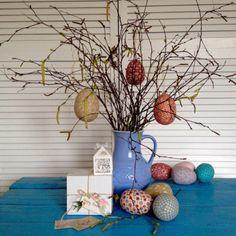 Easter Egg, Tilda Easter, Home Decor, Easter Decoration, Spring Gift via SweetCraftStreet