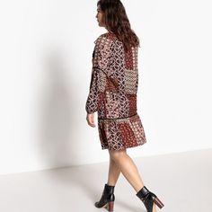 Mix Print Dress