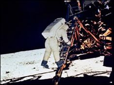 the BBC - there's a video here of Nixon talking to the astronauts - need to view this