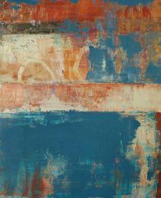 "Allison B. Cooke Luogo 20"" x 16"" oil/mixed media"