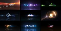 Quick Logo Sting Pack 04: Glowing Particles  • See it in action ➝…
